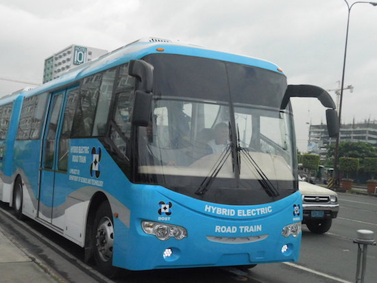 RP-made Hybrid Electric Road Train launched