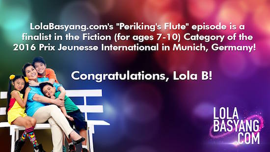 LolaBasyang.com to compete in Prix Jeunesse Intl