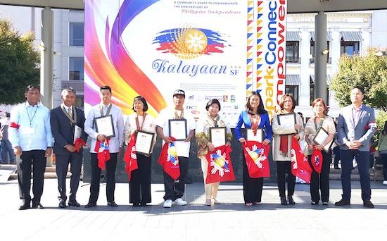 8 Fil-Am heroes awarded Gawad Bayani in San Francisco