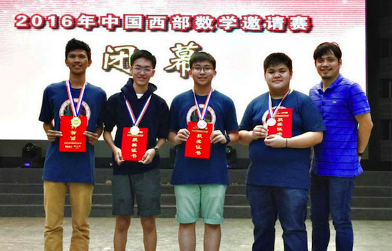 PH math students wins 2 gold, 2 silver in China
