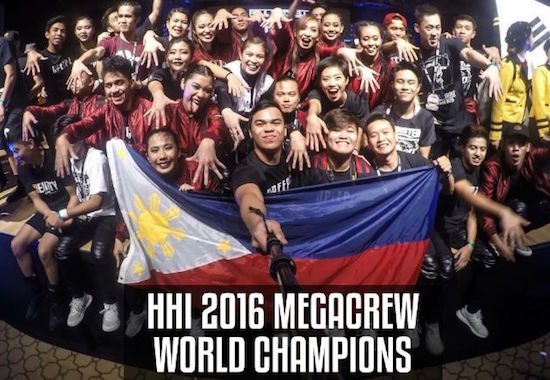 UPeepz crew wins Hiphop Dance World Championship