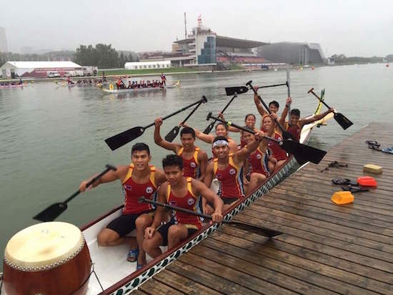 Pinoys bag 3 golds at Dragon Boat Worlds in Russia