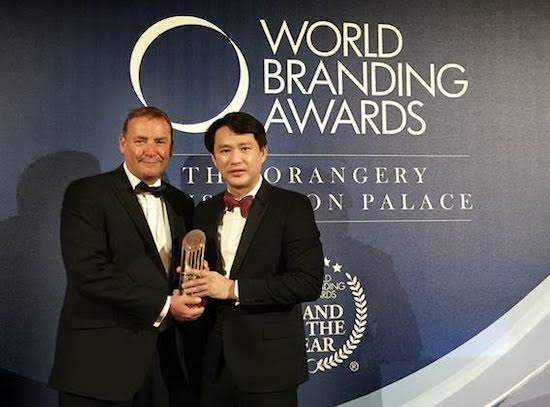 SM Supermalls wins Brand of the Year Award in London