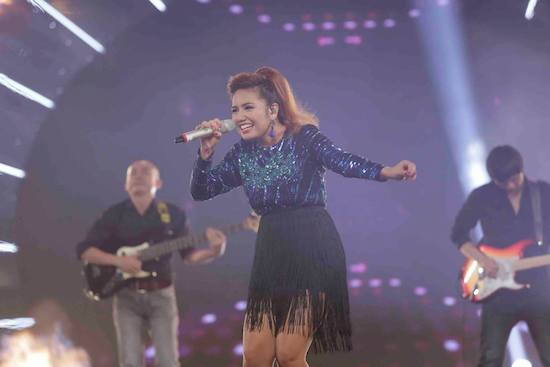 Janice Buco is 1st foreigner to win Vietnam Idol