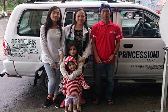 Baguio taxi driver offers free rides to celebrate New Year