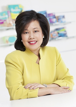 Filipina is 1st Asian, female President of a P&G global business