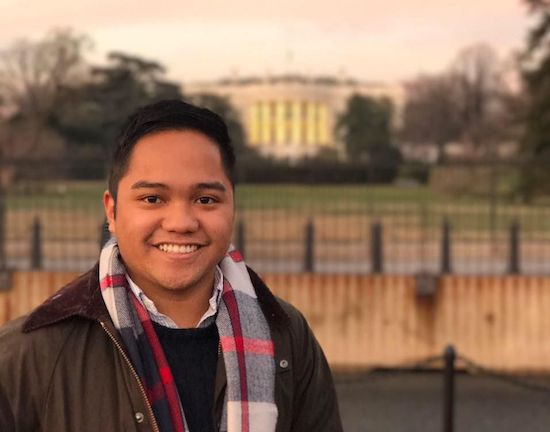 Fil-Am Ninio Fetalvo named Trump Asst. Press Secretary