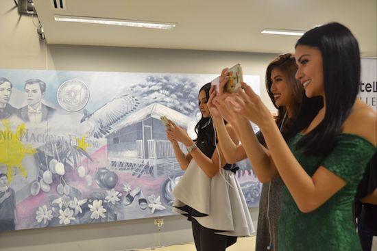 SiningLakbay gallery views PH history in augmented reality
