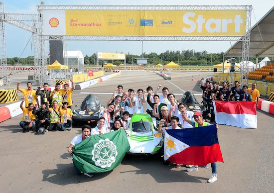 DLSU Eco Car Team wins Asian Drivers Title