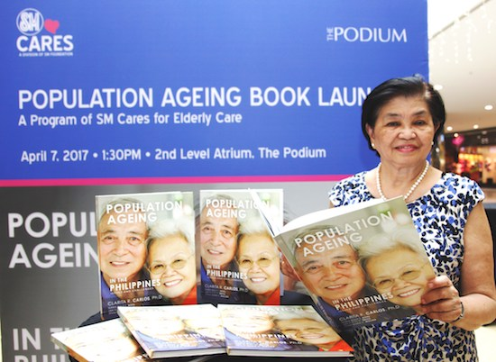 SM publishes pioneering book on PHL's ageing population