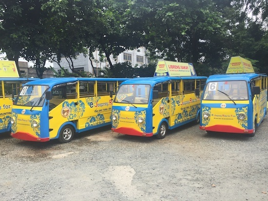 Jeepney undergoes safety, fuel efficiency modernization facelift