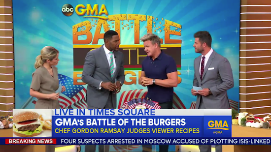 Battle of the Burgers