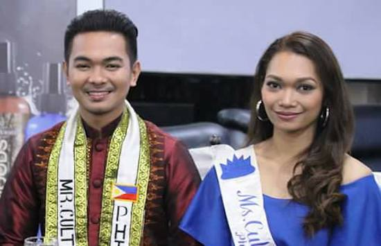 Pinoys capture Mister and Miss Culture World titles