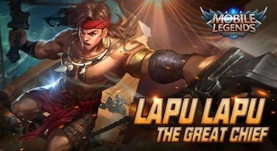 Lapu-lapu is the new hero on Mobile Legends: Bang bang