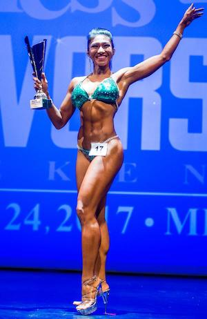 Lou Jen Saldo is 2017 Fitness Universe Champion