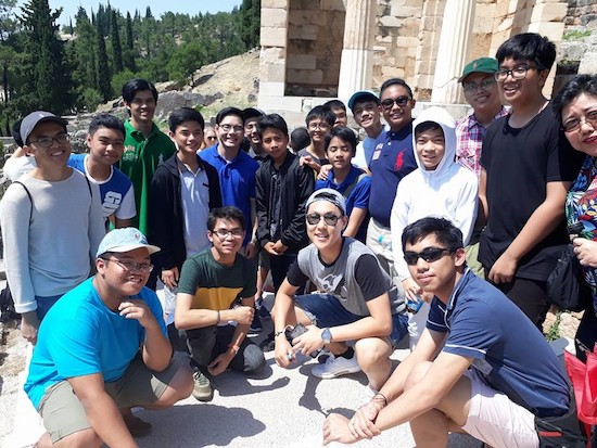 La Salle G'hills bags 4 trophies in Athens Scholars Cup