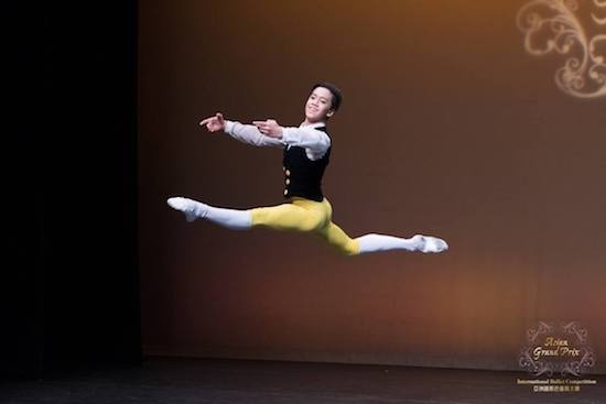 Rench Soriano wins Ballet Asian Grand Prix in Hong Kong