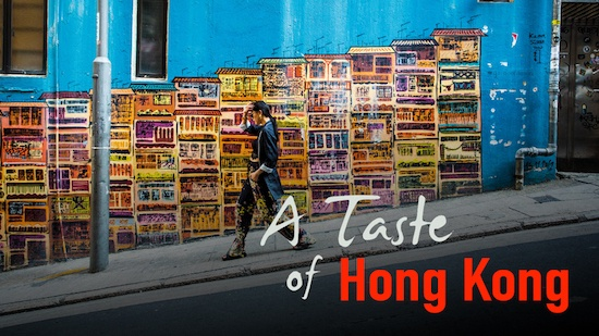 Cebu Blogger Kryz Uy stars in TLC's Taste of Hong Kong