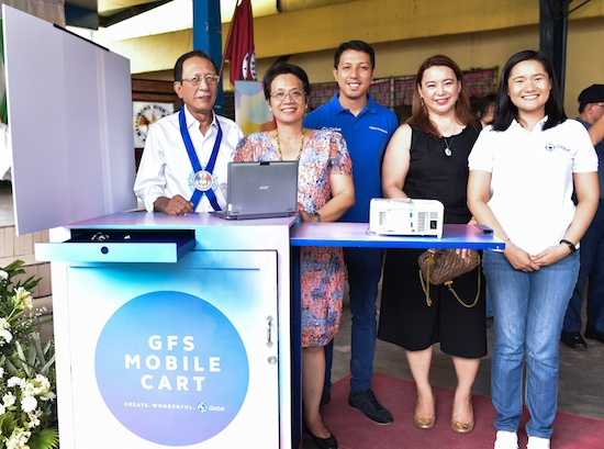 Globe supports 21st century learning in QC public schools