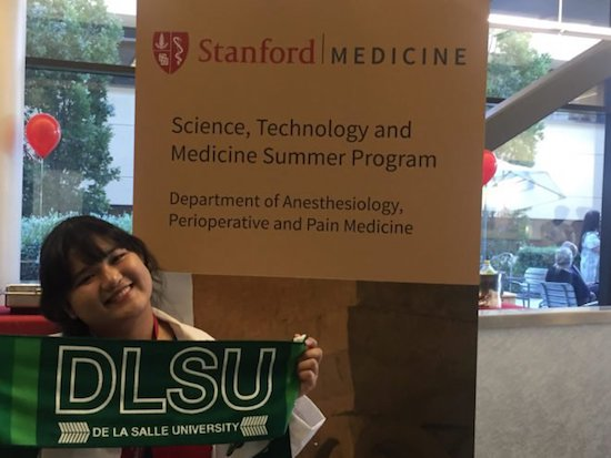 De La Salle University student excels in Stanford University