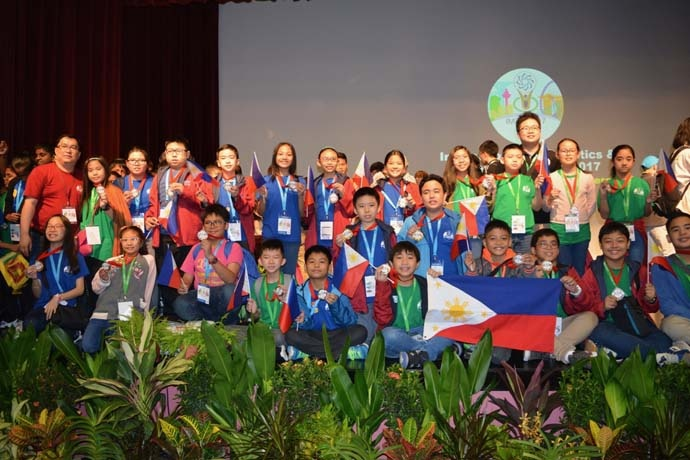 Pinoy Elementary Students Bag 23 Medals At Science, Math Olympiad In Singapore