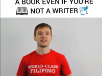 Why you should write a book even if you're not a writer