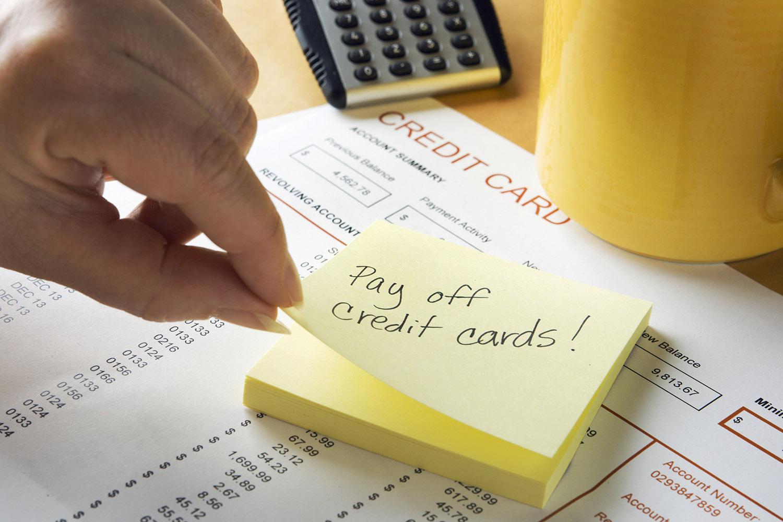 how to get rid of credit card debt reddit