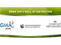 GMA Pinoy TV inducted into 1st EMMA Wall of Distinction
