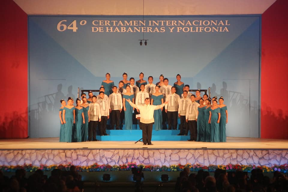 UP Singing Ambassadors undefeated in Spain Choir Competition - Good News  Pilipinas