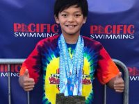 10 year-old Clark Kent breaks Michael Phelps swim record, gets congrats from Olympian