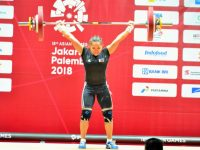 Weightlifter Hidilyn Diaz  wins the Philippines' 1st Asian Games Gold