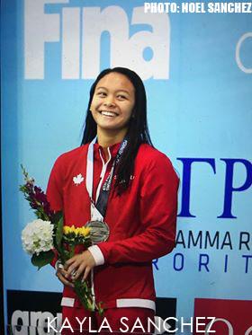 Kayla Noelle Sanchez International Swimming League