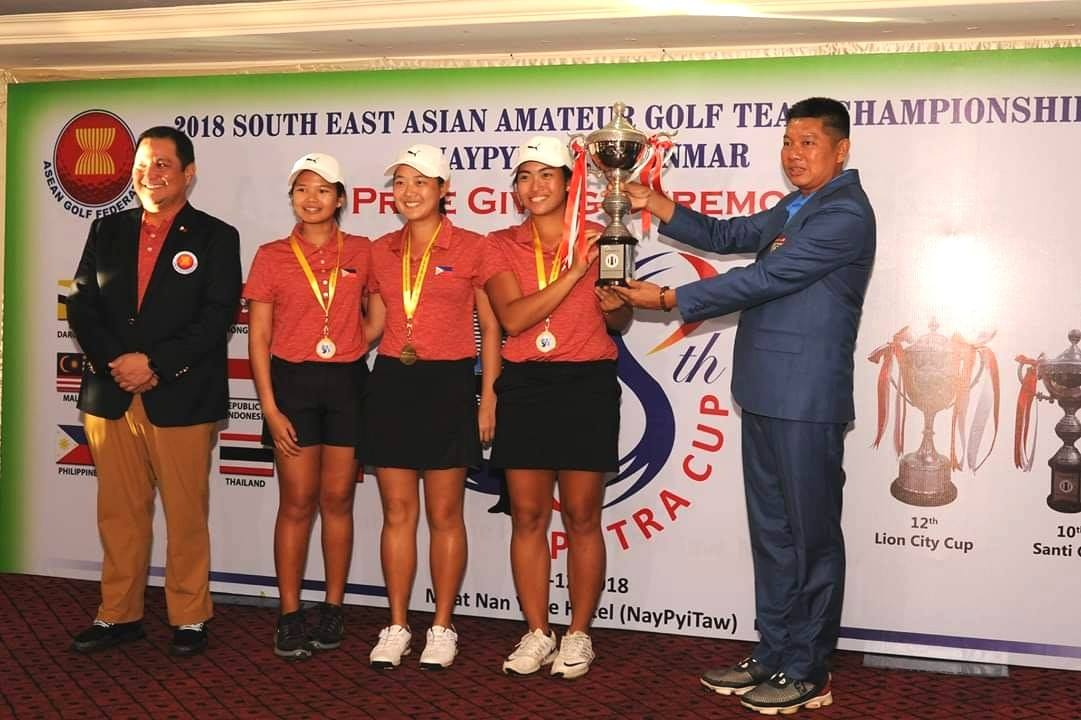 Filipina golfers overpower defending Thai champs to win Santi Cup - Good  News Pilipinas