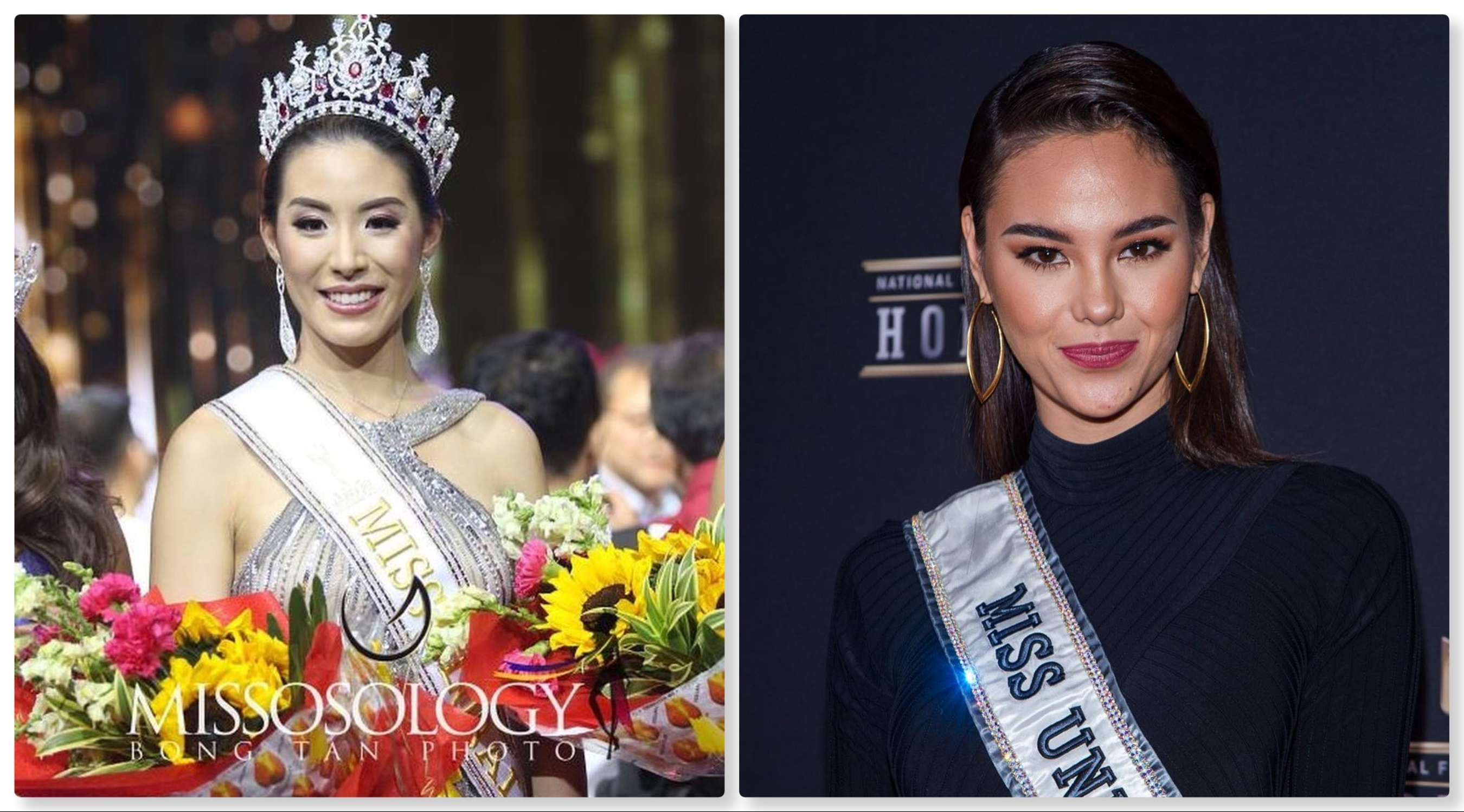 Miss Global winner Sophia Ng looks up to Filipina Miss Universe