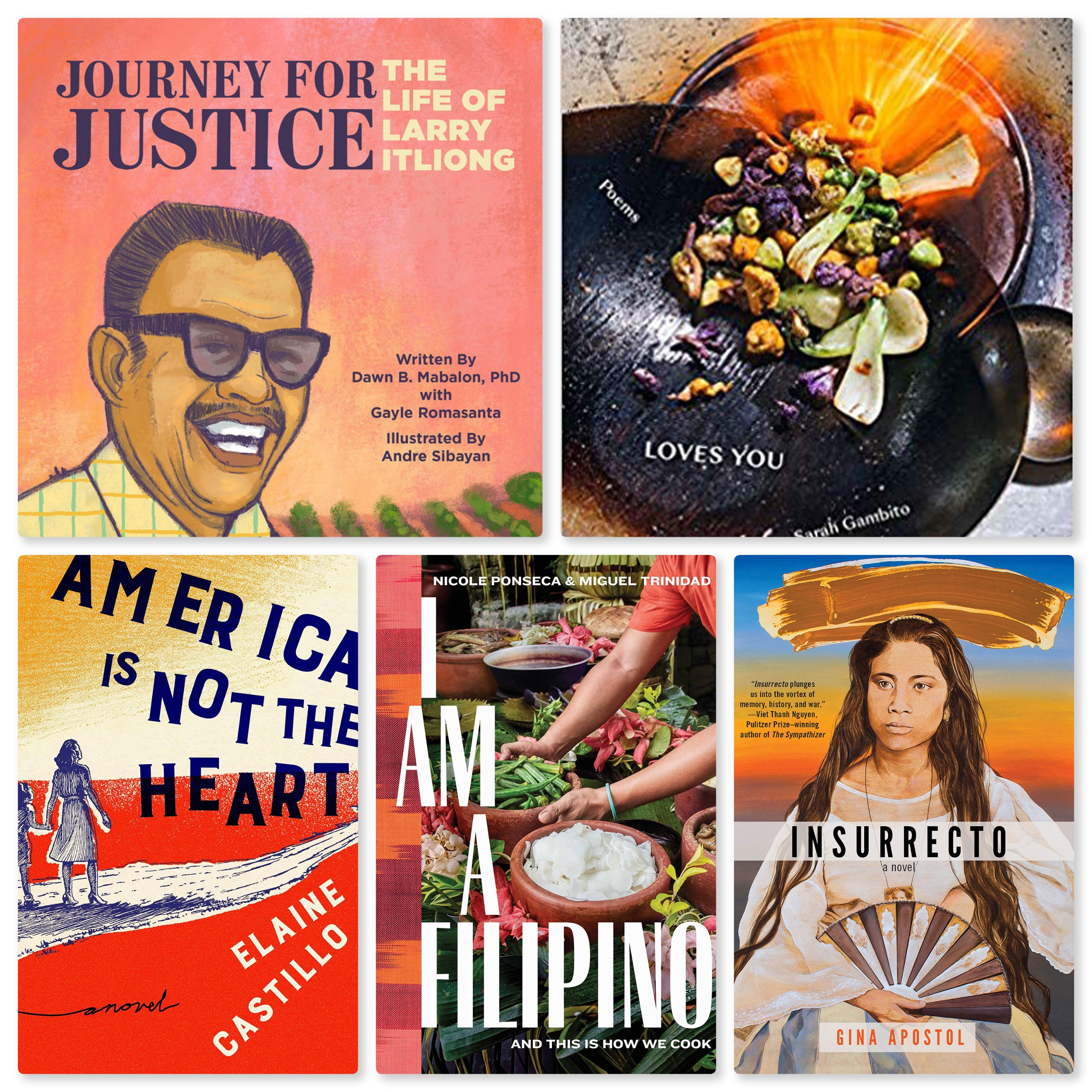 Asian Journal recommends 5 books by Fil-Am Authors - Good