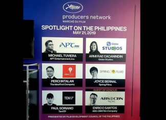 Cannes Filipino producers
