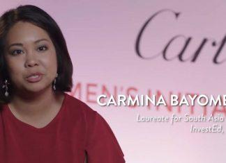 InvestED CEO Carmina Bayombong