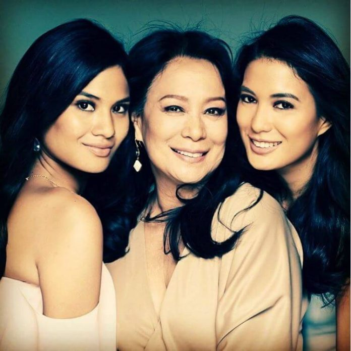 beauty queen Gloria Diaz family