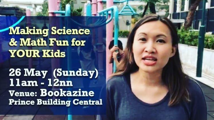 Janice Lao Hongkong event teaches kids science and math