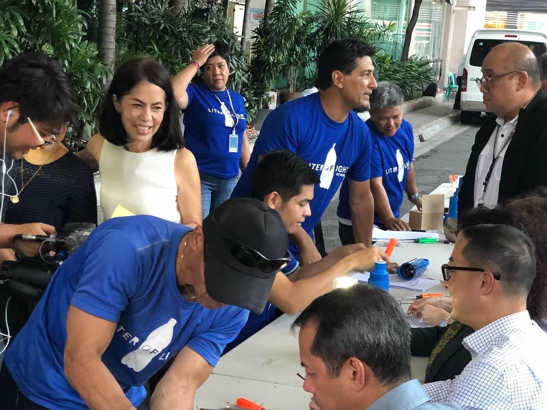 Gina Lopez Illac Diaz at ABSCBN