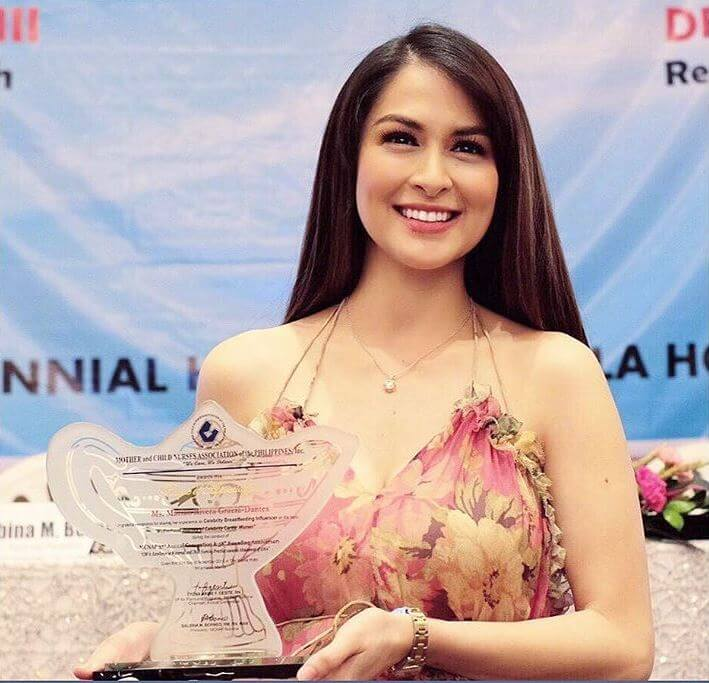 Marian award for breastfeeding