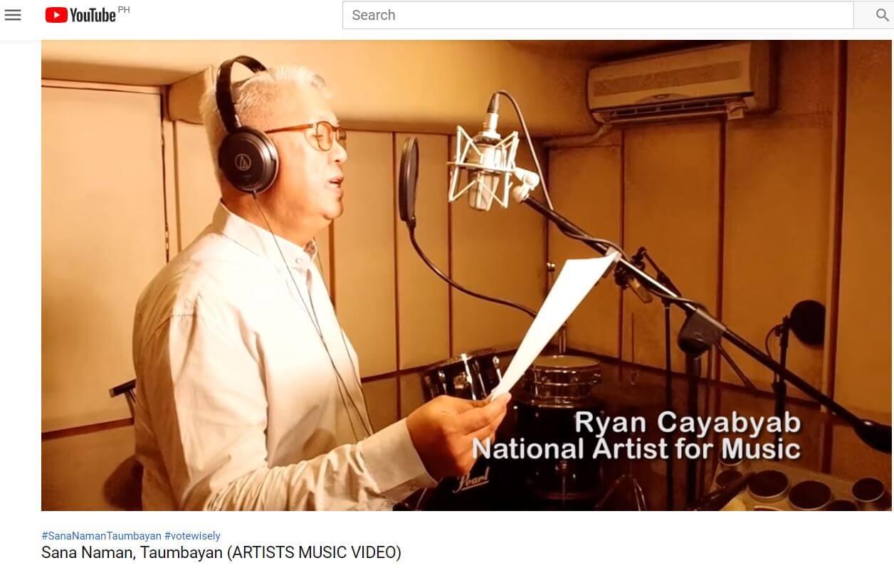Ryan Cayabyab National Artist for Music