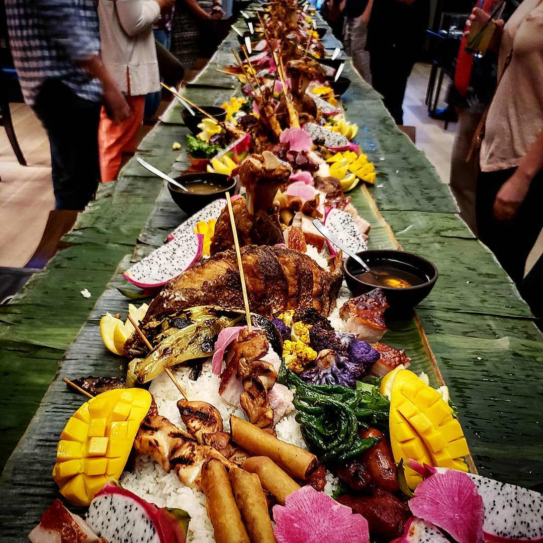 Filipino Kamayan Feast