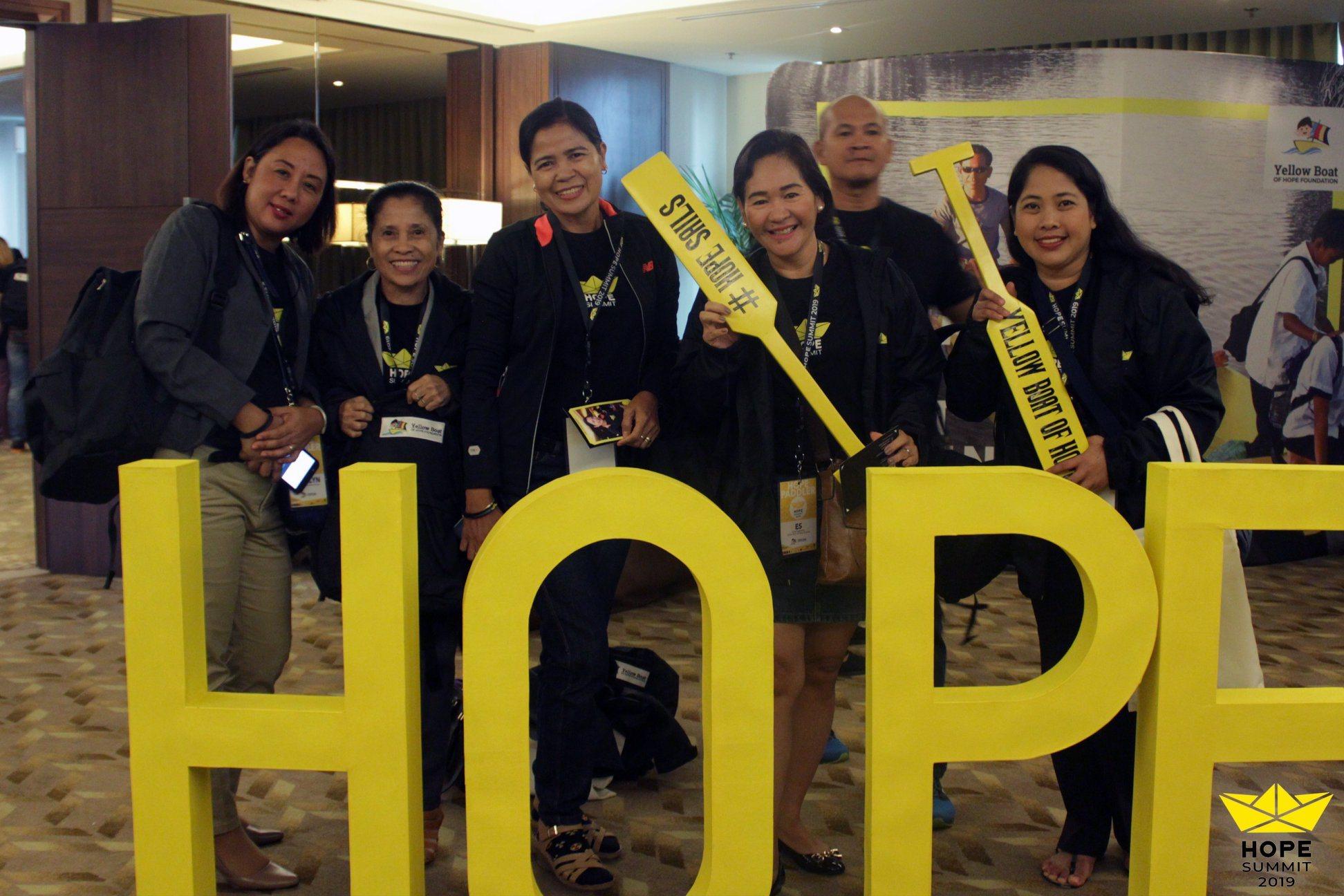 Hope Summit Yellow Boar Volunteers