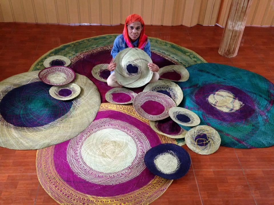 Mat Weavers Filipino Innovations Bukidnon