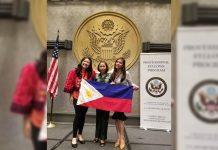 """Czarinnah """"Ching"""" Araneta, Noreen Marian Bautista, and Juvelyn """"Juby"""" Boniba-Pamonag"""