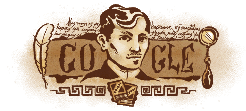 Jose Rizal Google Doodle