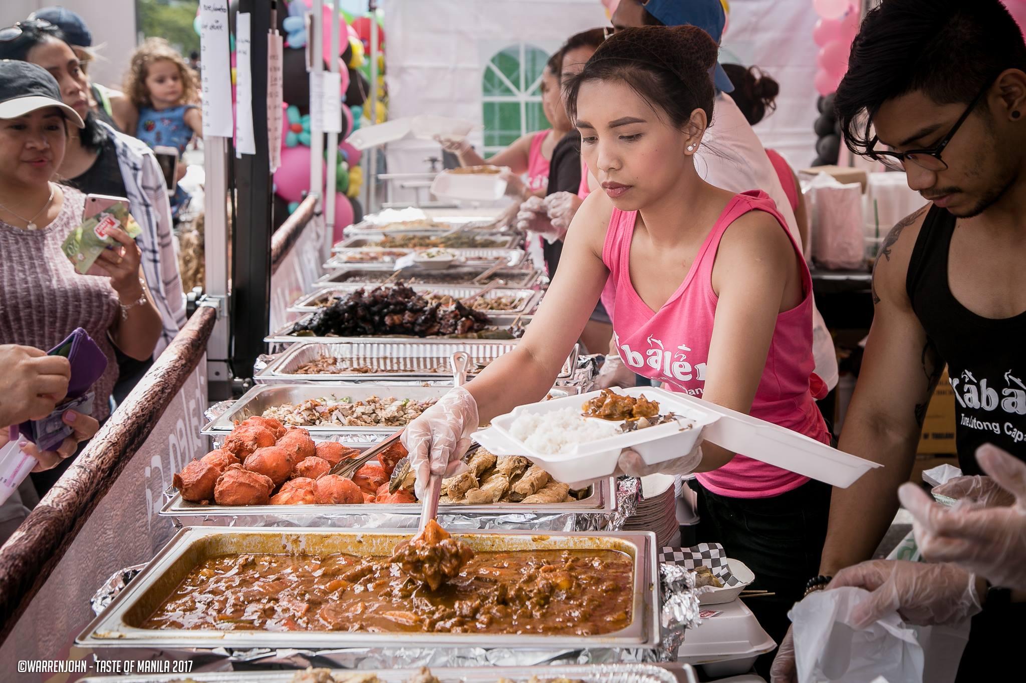 Taste of Manila Street Food