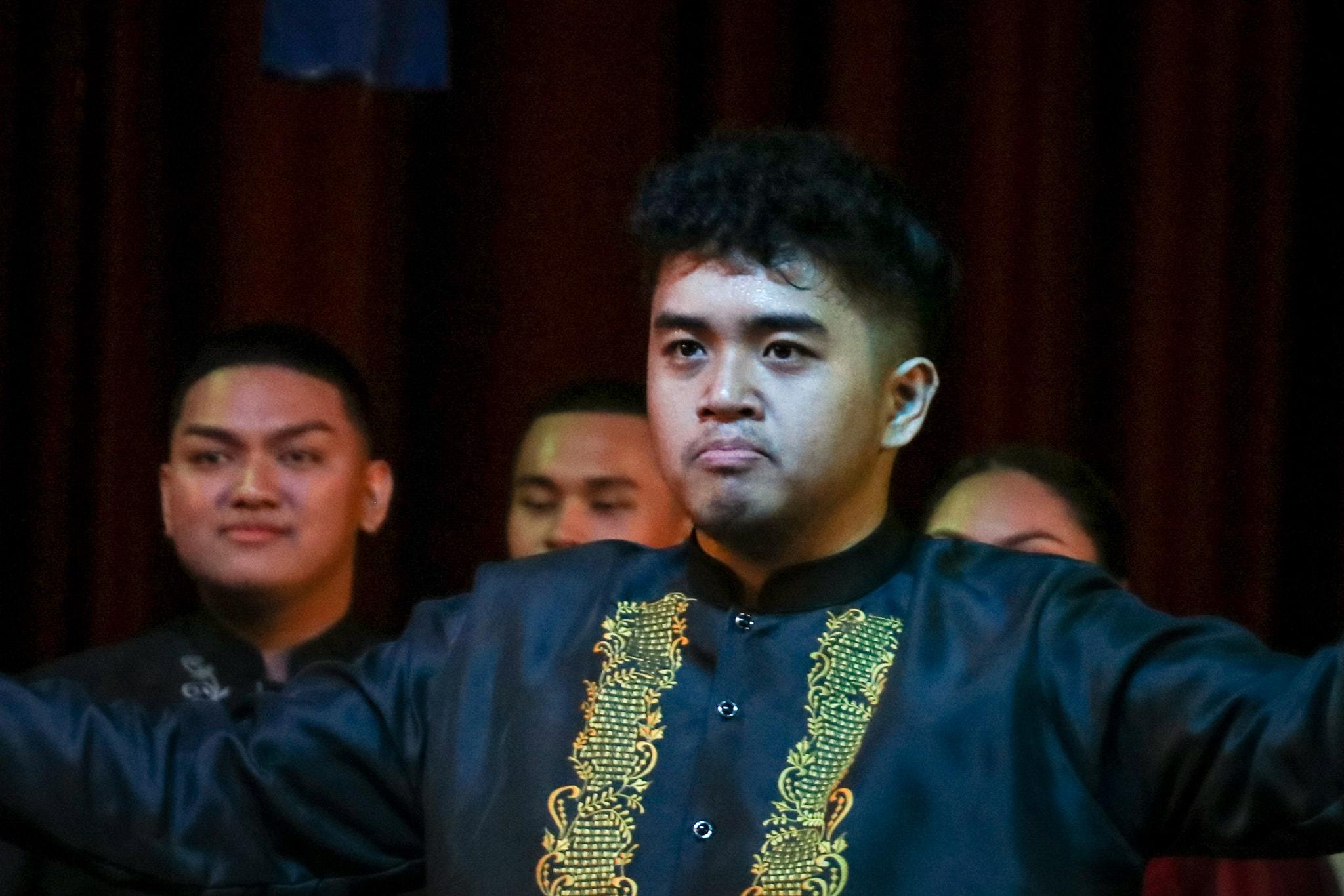 UST Singers Mark Agpasa