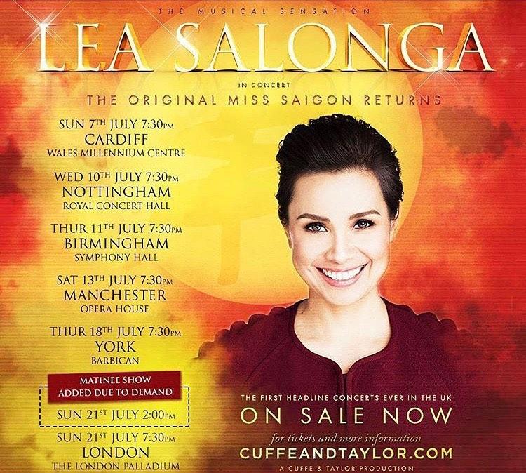 Lea Salonga exclusive concert